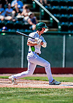 3 September 2018: Vermont Lake Monsters infielder Kevin Merrell in action during a rehab start against the Tri-City ValleyCats at Centennial Field in Burlington, Vermont. The Lake Monsters defeated the ValleyCats 9-6 in the last game of the 2018 NY Penn League regular season. Mandatory Credit: Ed Wolfstein Photo *** RAW (NEF) Image File Available ***