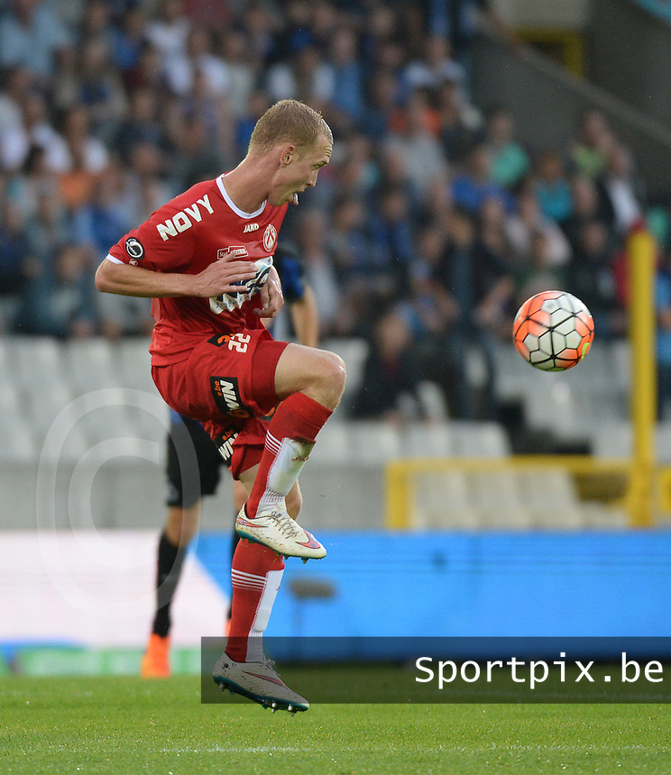 Club Brugge - KV Kortrijk : Michael Lallemand <br /> Foto VDB / Bart Vandenbroucke