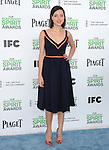 Aubrey Plaza<br />  attends The 2014 Film Independent Spirit Awards held at Santa Monica Beach in Santa Monica, California on March 01,2014                                                                               © 2014 Hollywood Press Agency