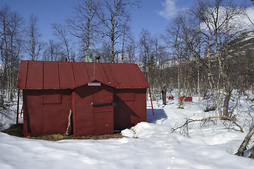 Sciense cabin,Sarek,Sweden