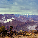 Clearing Storm, Matthes Point, Grand Canyon National Park, Arizona