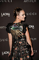 Billie Lourd attends 2018 LACMA Art + Film Gala at LACMA on November 3, 2018 in Los Angeles, California.    <br /> CAP/MPI/IS<br /> &copy;IS/MPI/Capital Pictures