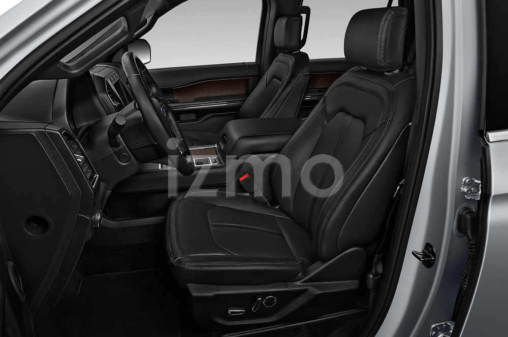 Front seat view of a 2018 Ford Expedition Limited 5 Door SUV front seat car photos