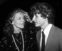 Lauren Bacall with son Sam Robards 1982<br /> Credit: Adam Scull/Photolink/MediaPunch
