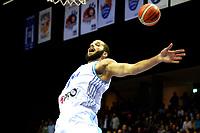 GRONINGEN - Basketbal, Donar - Pristina, voorronde Champions League, seizoen 2018-2019, 22-09-2018,  Donar speler Shane Hammink