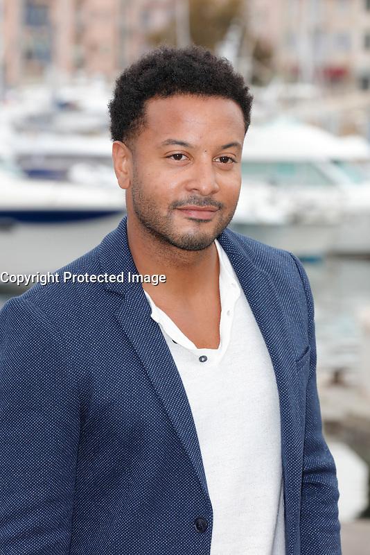 Mipcom Cannes le 17 Octobre 2016 Brandon Jay McLaren Photocall Ranson