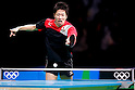 Jun Mizutani (JPN), <br /> AUGUST 4, 2016 - Table Tennis : <br /> Men's and Women's Training session <br /> at Riocentro - Pavilion 3 <br /> during the Rio 2016 Olympic Games in Rio de Janeiro, Brazil. <br /> (Photo by Sho Tamura/AFLO SPORT)