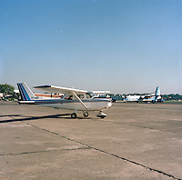 Juli 1986.  Luchthaven Deurne.