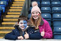 Blackburn Rovers Fans at the start off todays match<br /> <br /> Photographer Rachel Holborn/CameraSport<br /> <br /> The EFL Sky Bet League One - Blackburn Rovers v Oldham Athletic - Saturday 10th February 2018 - Ewood Park - Blackburn<br /> <br /> World Copyright &copy; 2018 CameraSport. All rights reserved. 43 Linden Ave. Countesthorpe. Leicester. England. LE8 5PG - Tel: +44 (0) 116 277 4147 - admin@camerasport.com - www.camerasport.com