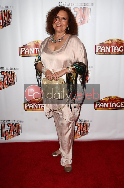 """Melissa Manchester<br /> at the """"42nd Street"""" Opening, Pantages, Hollywood, CA 05-31-16<br /> David Edwards/Dailyceleb.com 818-249-4998"""