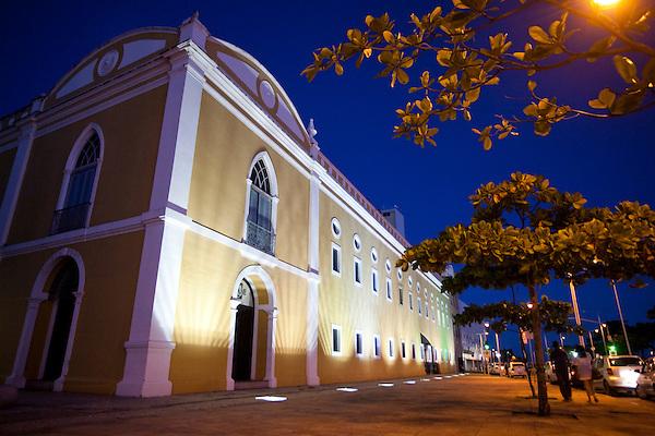 Recife_PE, Brasil..O Paco Alfandega em Recife, Pernambuco..The Paco Alfandega at Recife, Pernambuco..Foto: JOAO MARCOS ROSA / NITRO