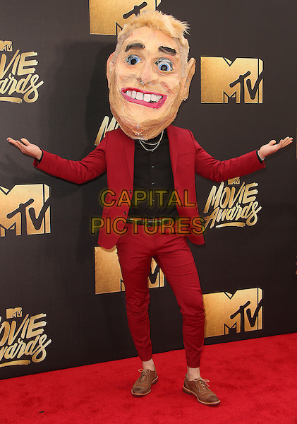 09 April 2016 - Burbank, California - Mike Posner. 2016 MTV Movie Awards held at Warner Bros. Studios. <br /> CAP/ADM/SAM<br /> &copy;SAM/ADM/Capital Pictures