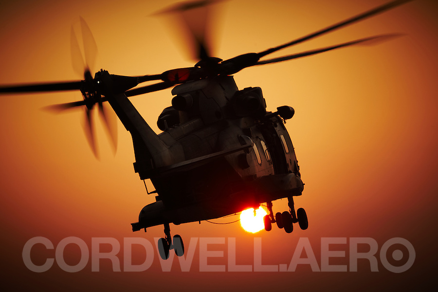 Agusta Westland Merlin HC.3 Military Helicopter