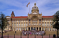 England. Birmingham.  The City Council Chambers, the city government offices.