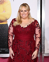 "LOS ANGELES - FEB 11:  Rebel WIlson at the ""Isn't It Romantic"" World Premiere at the Theatre at Ace Hotel on February 11, 2019 in Los Angeles, CA"