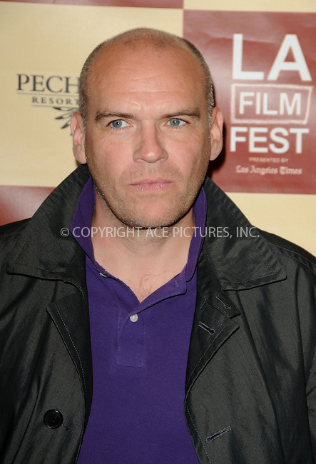 WWW.ACEPIXS.COM . . . . .  ....June 22 2011, Los Angeles....Actor John Michael McDonagh arriving at the Los Angeles Film Festival Premiere of 'The Guard' at the Regal Cinemas L. A. Live on June 22, 2011 in Los Angeles, California.....Please byline: PETER WEST - ACE PICTURES.... *** ***..Ace Pictures, Inc:  ..Philip Vaughan (212) 243-8787 or (646) 679 0430..e-mail: info@acepixs.com..web: http://www.acepixs.com