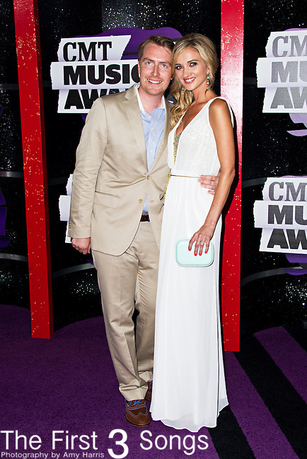 Sarah Darling arrives at the 2013 CMT Music Awards at Bridgestone Arena in Nashville, Tennessee.