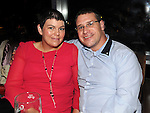 Michael Cotter and Leanne Casey pictured at John Wallace's 30th birthday in Brú. Photo: www.pressphotos.ie