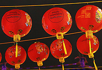 London's Chinatown is all decorated with lanterns and ready for Chinese New Year celebrations. London on Saturday February 10th 2018<br /> CAP/ROS<br /> &copy;ROS/Capital Pictures