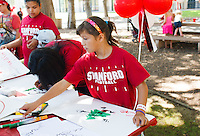 Stanford - August 30, 2014: Community tailgate before the Stanford Cardinal vs UC Davis Aggies game Saturday afternoon at Stanford Stadium. <br /> <br /> Stanford won 0-45.