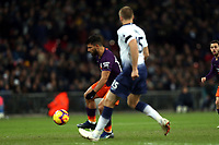 Sergio Aguero of Manchester City and Eric Dier of Tottenham Hotspur during Tottenham Hotspur vs Manchester City, Premier League Football at Wembley Stadium on 29th October 2018