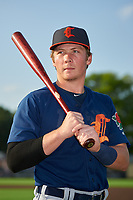 Connecticut Tigers Jake Holton (29) poses for a photo before a NY-Penn League game against the Auburn Doubledays on July 12, 2019 at Falcon Park in Auburn, New York.  Auburn defeated Connecticut 7-5.  (Mike Janes/Four Seam Images)