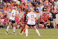 Houston, TX - Sunday Oct. 09, 2016: Alanna Kennedy during the National Women's Soccer League (NWSL) Championship match between the Washington Spirit and the Western New York Flash at BBVA Compass Stadium. The Western New York Flash win 3-2 on penalty kicks after playing to a 2-2 tie.