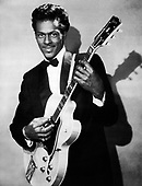 "CHUCK BERRY - Charles Edward Anderson ""Chuck"" Berry (October 18, 1926 – March 18, 2017)- circa 1956.  Photo: MMMedia Archive/IconicPix"