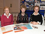 Alma Johnston, Eileen and Mary Hevey at the launch of Slane Community Centre monster draw in the Conyngham Arms hotel. Photo:Colin Bell/pressphotos.ie