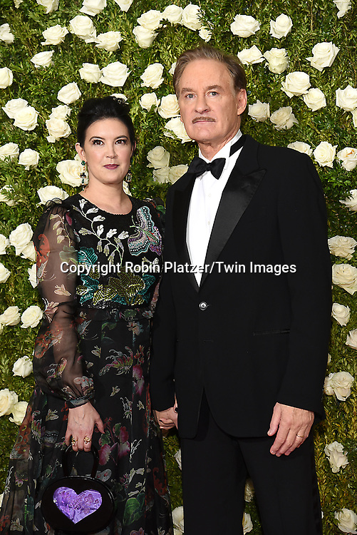 Phoebe Cates and Kevin Kline attend the 71st Annual  Tony Awards on June 11, 2017 at Radio City Music Hall in New York, New York, USA.<br /> <br /> photo by Robin Platzer/Twin Images<br />  <br /> phone number 212-935-0770
