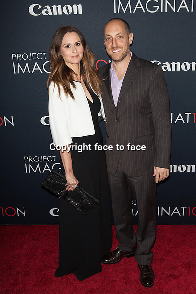 NEW YORK, NY - OCTOBER 24, 2013:  Francesca Silvestri and Kevin Chinoy attend the Premiere Of Canon's Project Imaginat10n Film Festival at Alice Tully Hall on October 24, 2013 in New York City. <br /> Credit: MediaPunch/face to face<br /> - Germany, Austria, Switzerland, Eastern Europe, Australia, UK, USA, Taiwan, Singapore, China, Malaysia, Thailand, Sweden, Estonia, Latvia and Lithuania rights only -