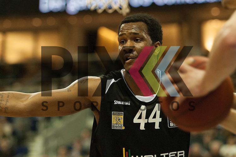 Tuebingens Wiliam Buford <br /> <br /> 19.12.15 BEKO BBL Basketball Bundesliga, ALBA Berlin - WALTER Tigers Tuebingen <br /> <br /> Foto &copy; PIX-Sportfotos *** Foto ist honorarpflichtig! *** Auf Anfrage in hoeherer Qualitaet/Aufloesung. Belegexemplar erbeten. Veroeffentlichung ausschliesslich fuer journalistisch-publizistische Zwecke. For editorial use only.