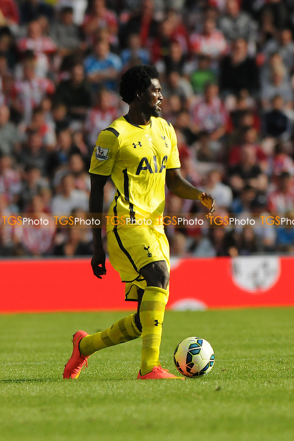 Emmanuel Adebayor of Tottenham Hotspur - Sunderland vs Tottenham Hotspur - Barclays Premier League Football at the Stadium of Light, Sunderland - 13/09/14 - MANDATORY CREDIT: Steven White/TGSPHOTO - Self billing applies where appropriate - contact@tgsphoto.co.uk - NO UNPAID USE