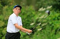 Aodhagan Brady (Co. Sligo) during the Connacht U14 Boys Amateur Open, Ballinasloe Golf Club, Ballinasloe, Galway,  Ireland. 10/07/2019<br /> Picture: Golffile | Fran Caffrey<br /> <br /> <br /> All photo usage must carry mandatory copyright credit (© Golffile | Fran Caffrey)