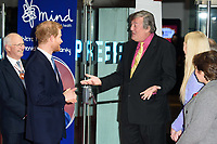 Prince Harry, Stephen Fry and Fearne Cotton<br /> arriving for the Giving Mind Media Awards 2017 at the Odeon Leicester Square, London<br /> <br /> <br /> ©Ash Knotek  D3350  13/11/2017