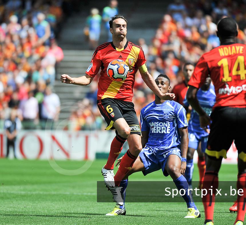 RC Lens - AJ Auxerre : Jerome Le Moigne<br /> foto David Catry / nikonpro.be