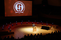 STANFORD, CA - September 7, 2018: Stanford Hall of Fame 2018 Ceremony at Bing Concert Hall.