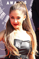 LOS ANGELES, CA, USA - AUGUST 24: Ariana Grande at the 2014 MTV Video Music Awards held at The Forum on August 24, 2014 in the Los Angeles, California, United States. (Photo by Xavier Collin/Celebrity Monitor)