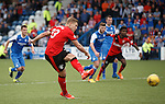 Martyn Waghorn scores from the penalty spot to put Rangers 2-0 up