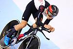 Ryo Chikatani (JPN), <br /> AUGUST 29, 2018 - Cycling - Track : <br /> Men's 4000m Individual Pursuit Final  <br /> at Jakarta International Velodrome <br /> during the 2018 Jakarta Palembang Asian Games <br /> in Jakarta, Indonesia. <br /> (Photo by Naoki Nishimura/AFLO SPORT)