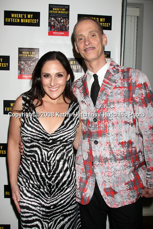 """Rikki Lake & John Waters.Howard Bragman's Book Party for """"Where's My Fifteen Minutes"""" at the Chateau Marmont Hotel in West Los Angeles, CA on .January 14, 2009.©2008 Kathy Hutchins / Hutchins Photo..                ."""