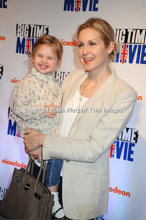 "Helena and mom Kelly Rutherford attend The movie premiere of "" Big Time Movie"" starring .Big Time Rush of Nickelodeon on March 8, 2012 at 583 Park Avenue in New York City."