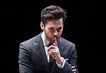 Dry Powder<br /> by Sarah Burgess<br /> Directed by Anna Ledwich at the <br /> Hampstead Theatre, London, Great Britain <br /> 31st January 2018 <br /> Press photocall <br /> Tom Riley as Seth <br /> <br /> <br /> <br /> Designed by Andrew D Edwards <br /> Lighting by Elliot Griggs<br /> Sound by Max Pappenheim <br /> Video by Ian William Galloway<br /> <br /> Photograph by Elliott Franks