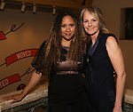 """Tracie Toms and Helen Hunt attends the Opening Night performance afterparty for ENCORES! Off-Center production of """"Working - A Musical""""  at New York City Center on June 26, 2019 in New York City."""