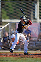 Danny Neri during the WWBA World Championship at the Roger Dean Complex on October 21, 2018 in Jupiter, Florida.  Danny Neri is a catcher from Macclenny, Florida who attends Bishop John J. Snyder High School and is committed to Georgia Tech.  (Mike Janes/Four Seam Images)