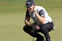 Richard McEvoy (ENG) on the 18th green during Friday's Round 2 of the 2018 Turkish Airlines Open hosted by Regnum Carya Golf &amp; Spa Resort, Antalya, Turkey. 2nd November 2018.<br /> Picture: Eoin Clarke | Golffile<br /> <br /> <br /> All photos usage must carry mandatory copyright credit (&copy; Golffile | Eoin Clarke)