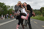 Avril, Catherine and Sarah from Mullingar at Slane Concert 2011..(Photo credit should read Jenny Matthews www.newsfile.ie)....This Picture has been sent you under the conditions enclosed by:.Newsfile Ltd..The Studio,.Millmount Abbey,.Drogheda,.Co Meath..Ireland..Tel: +353(0)41-9871240.Fax: +353(0)41-9871260.GSM: +353(0)86-2500958.email: pictures@newsfile.ie.www.newsfile.ie.