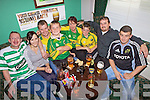 Fans getting ready for the match in The New Kindom Bar on Sunday.L-R Eugene Quinn, Jennifer Hicky, Jonathon Toomey, Killan O'Gorman, Mary Toomey, Christopher O'Gorman, Kenneth O'Gorman and Anthony Stack