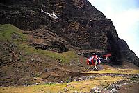 Na Pali coastline helicopter tour