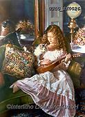 CHILDREN, KINDER, NIÑOS, paintings+++++,USLGSK0026,#K#, EVERYDAY ,Sandra Kock, victorian